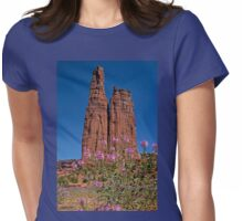 Spider Flowers and Spider Rock Womens Fitted T-Shirt