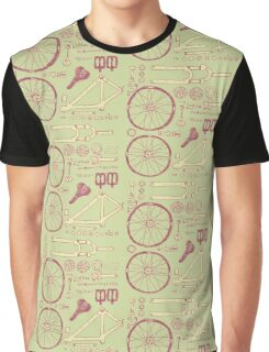 Bicycle Parts Graphic T-Shirt