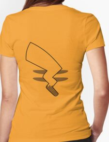 Pikachu Tail Womens Fitted T-Shirt