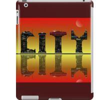Abstract golden skyline. iPad Case/Skin