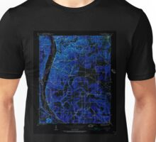 USGS TOPO Map Arkansas AR Bethesda 257988 1942 24000 Inverted Unisex T-Shirt