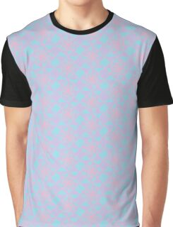 A Sudy in Pink, Lavender and Soft Teal Graphic T-Shirt