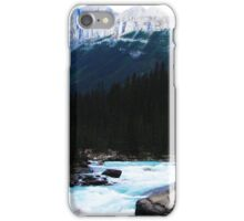 Rapids in the Rockies iPhone Case/Skin