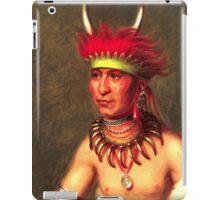 Chief Shaumonekusse iPad Case/Skin
