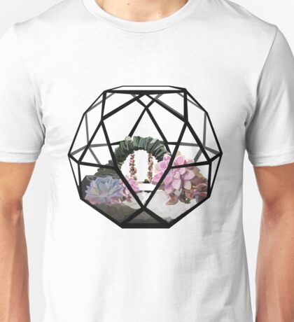 Secret Garden Terrarium Unisex T-Shirt