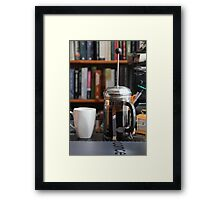 The Morning Plunge Framed Print