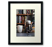 The Morning Plunge Framed Print