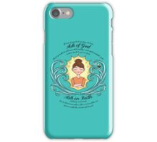 LDS Young Women Theme 2017 iPhone Case/Skin