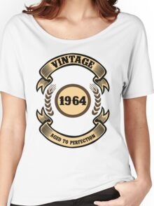 Vintage 1964 Aged To Perfection Women's Relaxed Fit T-Shirt