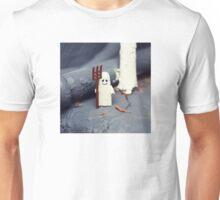 ::: { THE HALLOWEEN GHOST } ::: Unisex T-Shirt