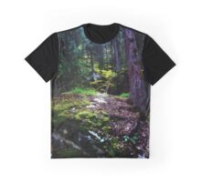 Moss in the Woods Graphic T-Shirt