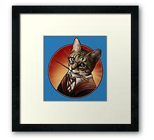 Harry cat Framed Print