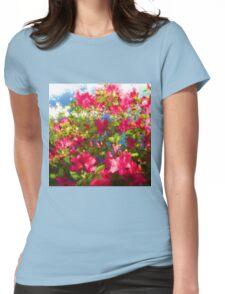 Pink Azaleas Womens Fitted T-Shirt