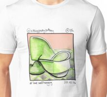 Lime Wall Hanging Unisex T-Shirt