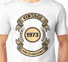 Vintage 1973 Aged To Perfection Unisex T-Shirt