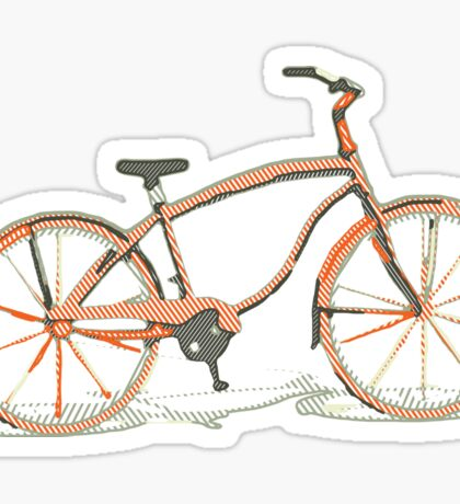 Cute bicycle Sticker
