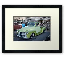 Two Tone Chevy Framed Print