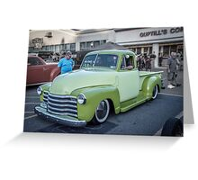 Two Tone Chevy Greeting Card