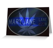 Mary Jane - Cool Greeting Card
