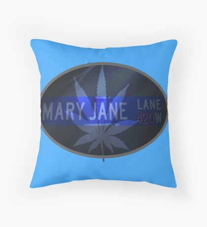 Mary Jane - Cool Throw Pillow