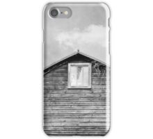 Black & White Abandoned Barn iPhone Case/Skin