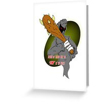 Ditto Brother of Death Greeting Card