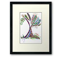 Tree of Life 4 Framed Print