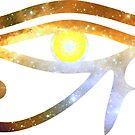 Eye of RA - Prawn Nebula || Egyptian Stickers by SirDouglasFresh