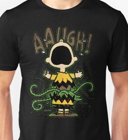 Aaugh! - A Comic Strip Tragedy  Unisex T-Shirt