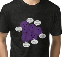 Member Berries Remember/ Purple Tri-blend T-Shirt