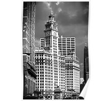 Wrigley Building Chicago Illinois Poster