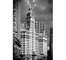 Wrigley Building Chicago Illinois Photographic Print