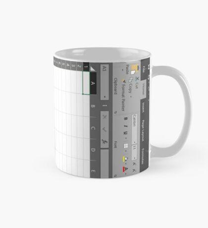 Excel Spreadsheet Mug