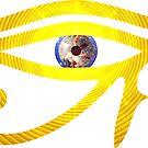 Eye of RA - Eye of Enlightenment || Egyptian Stickers by SirDouglasFresh