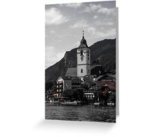 Historic Europe a fairytale at every corner Greeting Card