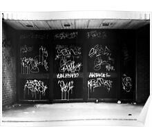 Graffiti Hamilton Poster