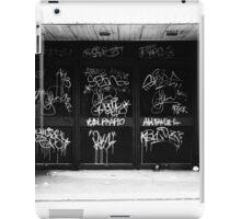 Graffiti Hamilton iPad Case/Skin