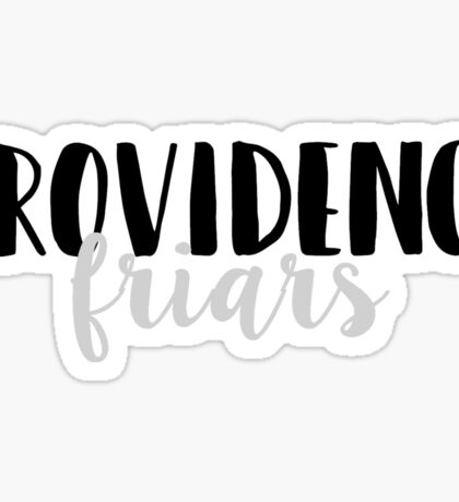 Providence Friars Sticker