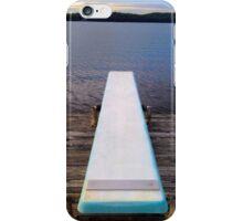 Diving Board iPhone Case/Skin