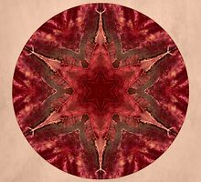 Red Star Mandala by Gail S. Haile