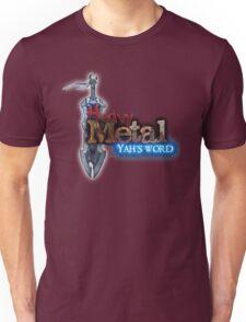 HEAVY METAL BY AHK-BEN Unisex T-Shirt