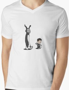 Donnie and Frank Mens V-Neck T-Shirt