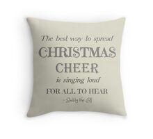 Christmas Cheer Throw Pillow