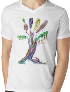 Tree of Life 6 Mens V-Neck T-Shirt