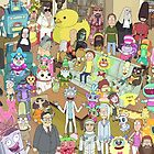 Rick and Morty Total Rickall by wethom