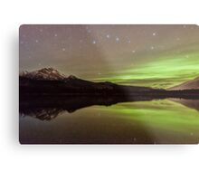 Dark Skies with a Hint of Green Metal Print