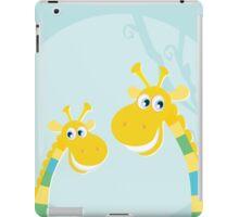 Funny yellow giraffes. New art in shop iPad Case/Skin