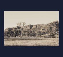 Sepia Landscape Kids Tee