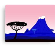 New in shop : Luxury tanzania illustration Canvas Print