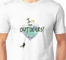 I Luv the outdoors!! Unisex T-Shirt